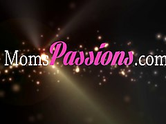 Moms Passions - First lovemaking with busty mom