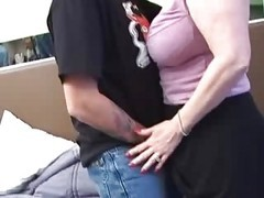 Blonde Mature Got Pleasure-fdcr
