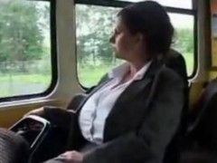 Big Boobs Milf In Tram