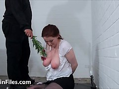 bizarre spanking and messy humiliation of enslaved isabel de