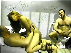 Brunette Slut Gets Dirty In A Jail Cell