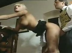 Anita Blond as a horny maid