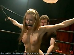 Cali Lakai Loves Being Dominated And Fucked In Strict Bondage