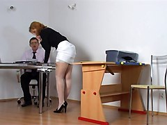 Naughty Student Getting Punished By Teacher